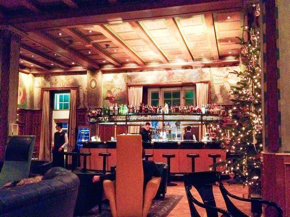 The beautiful Laurin Bar in Bolzano