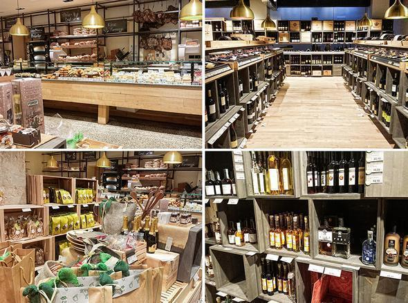 Foodie heaven at the Pur Sudtirol shop in Bolzano