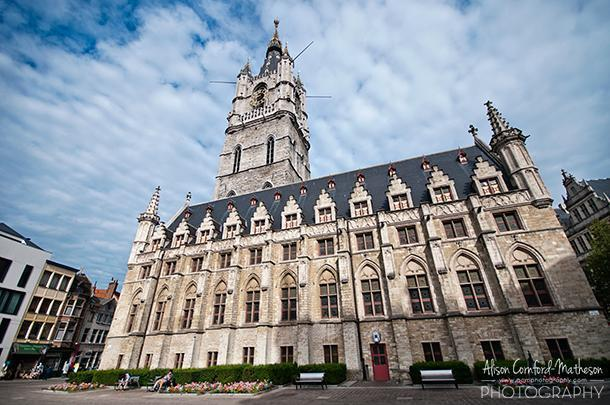 Ghent's Belfry and Town Hall are among those listed by UNESCO