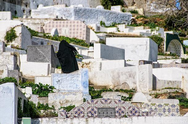 The Cemetery of Tetouan, Morocco