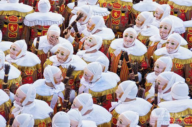 Binche's unique carnival celebration is on the UNESCO list