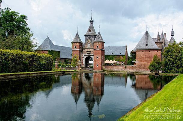 the Kasteel De Commanderie in Limburg, Belgium