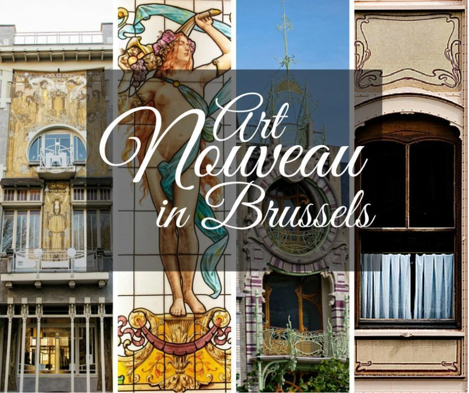 Where to see Art Nouveau in Brussels, Belgium