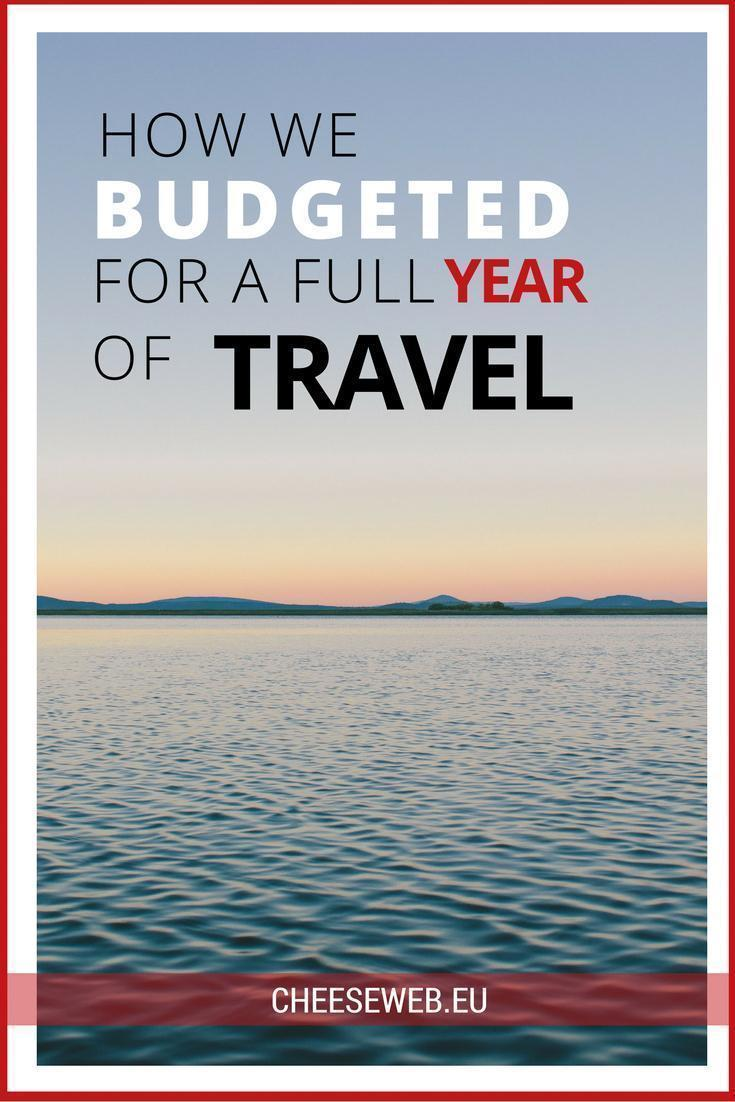 How we budgeted for a full year of travel