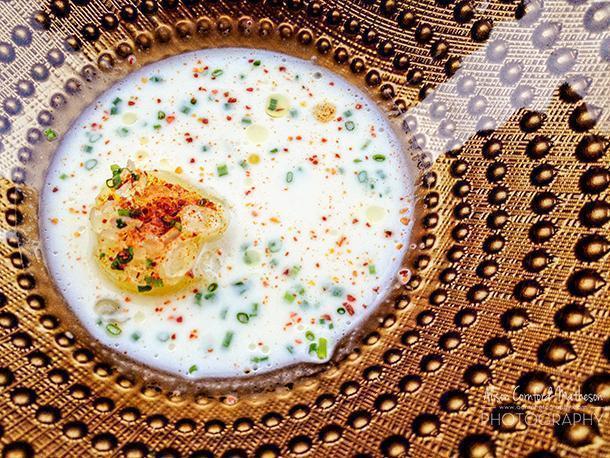Haute cuisine Slow Food at Restaurant Bon Bon in Brussels