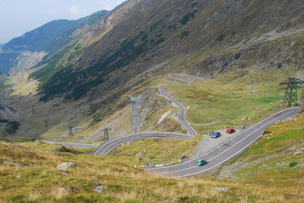 Andrew's dream road - The Transfăgărăşan Highway in Romania