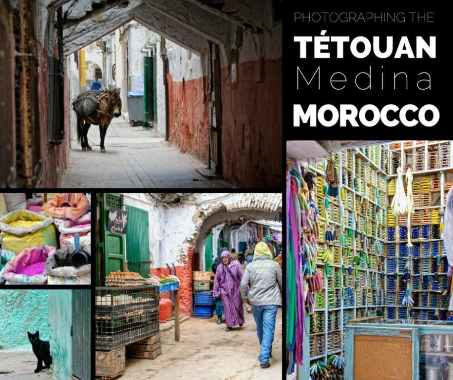 Photographing the Tetouan Medina, Morocco