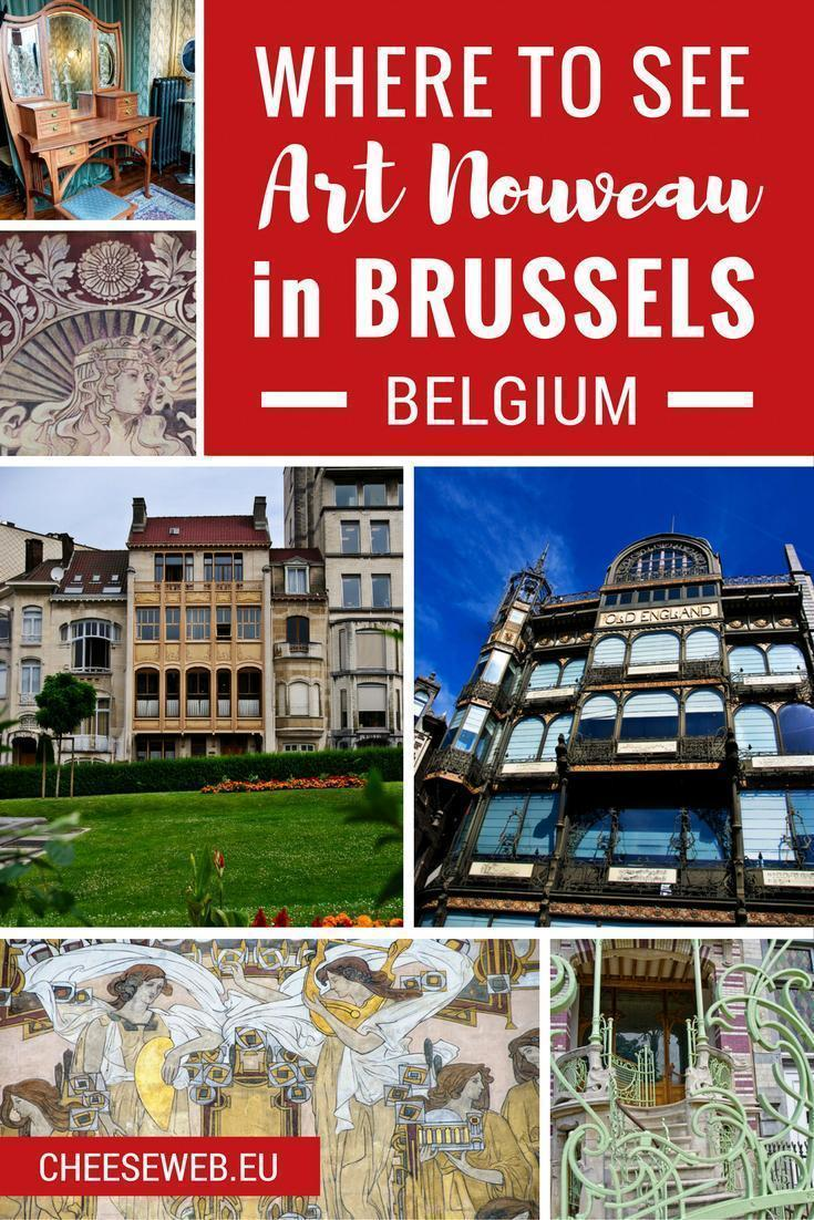 Where to see Art Nouveau architecture in Brussels, Belgium
