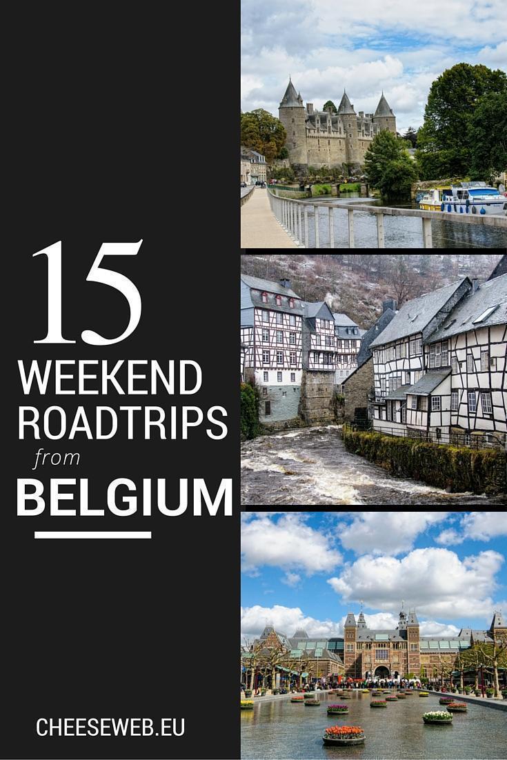 15 weekend road trips from Belgium