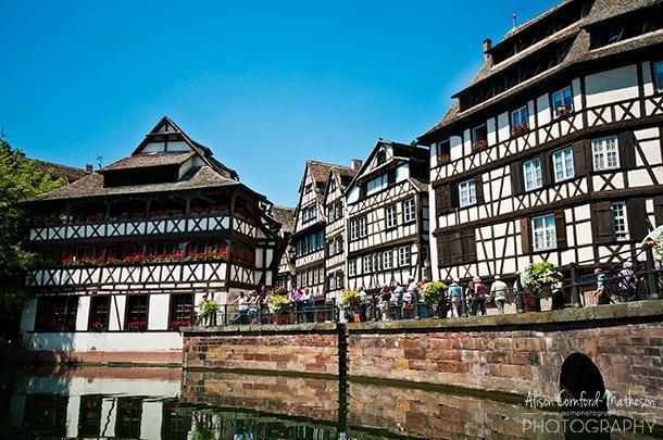 UNESCO designated Strasbourg, in Alsace, France