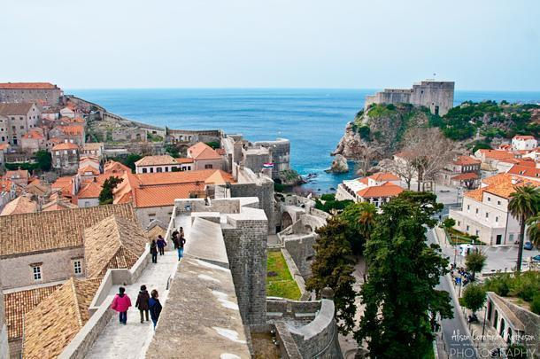 Dubrovnik may be packed in the summer, but it's perfectly pleasant in the off-season