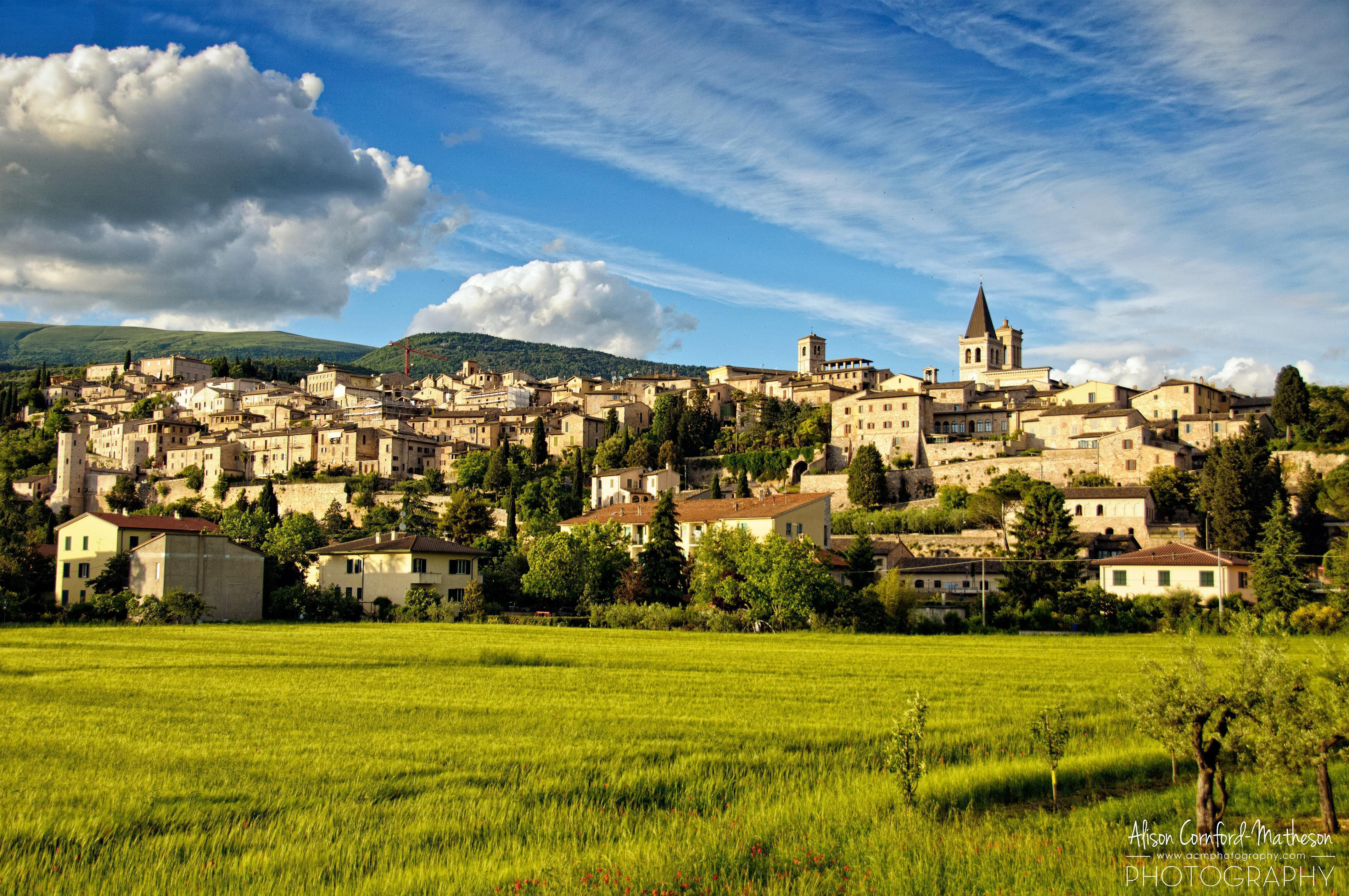 It doesn't get more Italian than this - stunning Spello in Umbria
