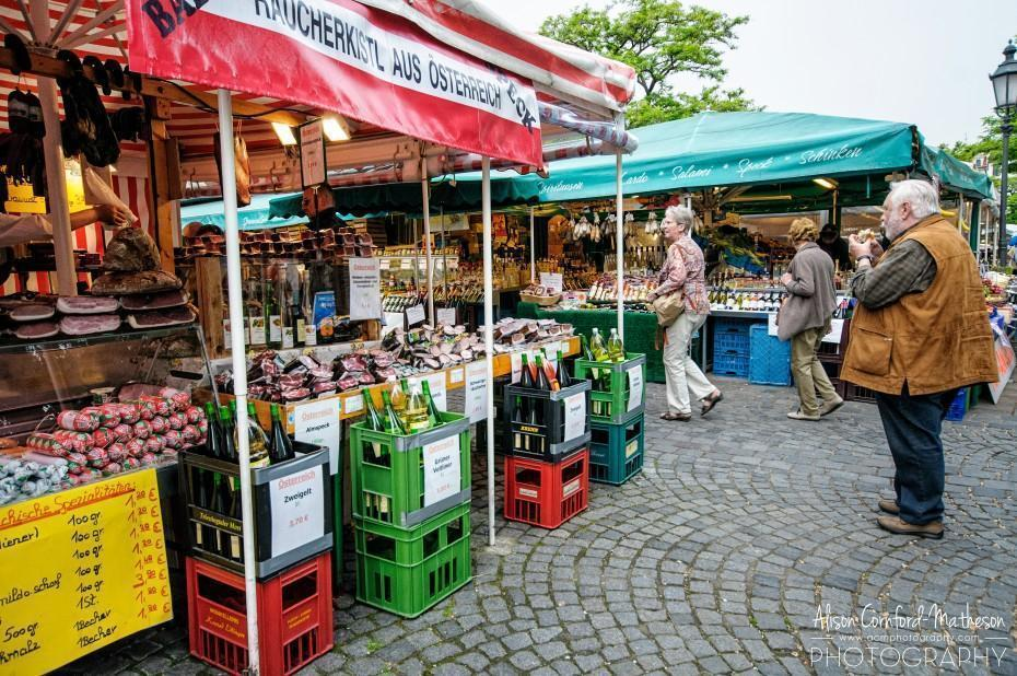 Munich's daily produce market is foodie heaven!