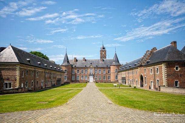 Alden Biesen castle in Limburg is near Tongeren