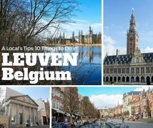 10 things to do in Leuven, Flanders, Belgium