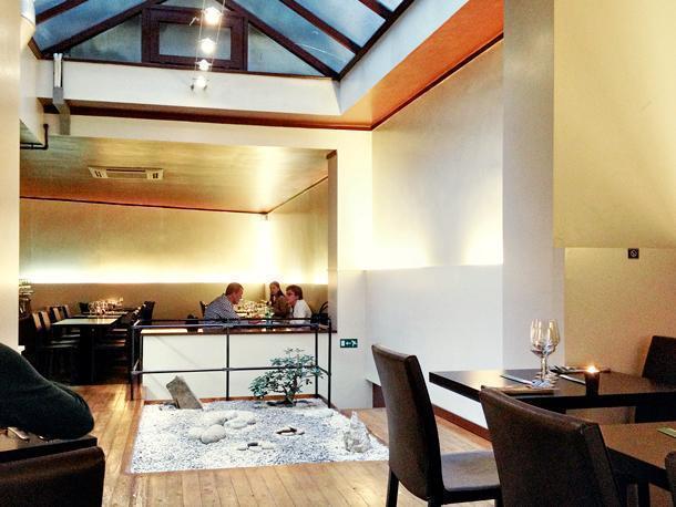 Chez Oki, one of dozens of ethnic restaurants in Ixelles
