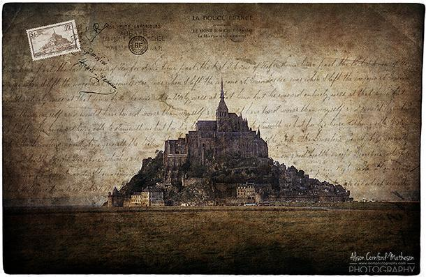 Majestic Mont-St-Michel, in Normandy, France