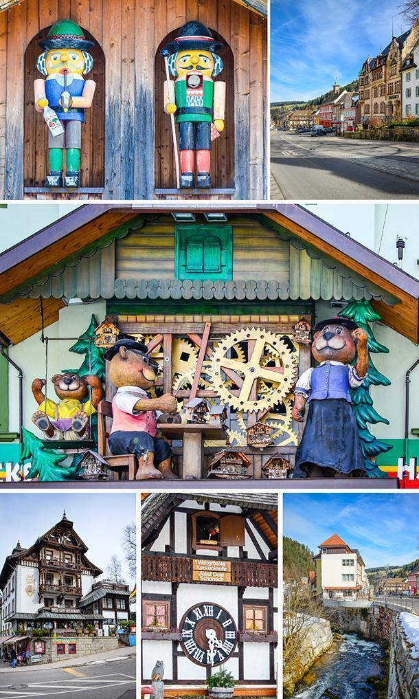 Pretty, colourful, Triberg, Germany