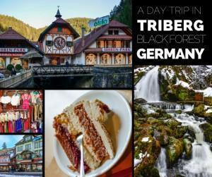 Triberg in the Black Forest of Germany