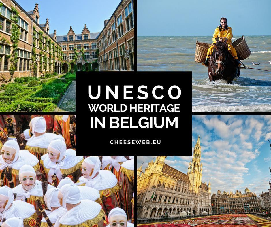 UNESCO World Heritage in Belgium