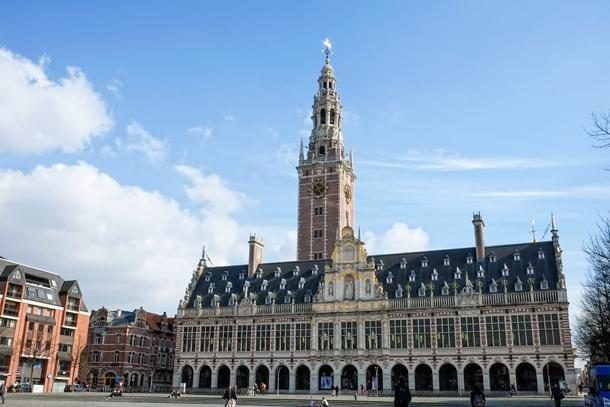 The University of Leuven Library.