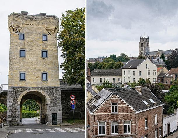 The medieval Moerenpoort offers a great view of Tongeren
