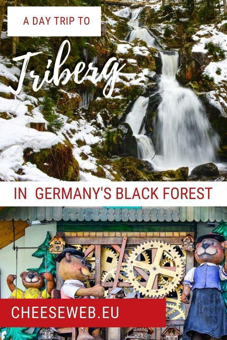 Waterfalls, coocoo clocks, and timber-frame houses; We must be in the Black Forest of #Germany! Welcome to Triberg!