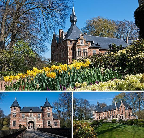 Groot-Bijgaarden's architecture is almost as pretty as the gardens