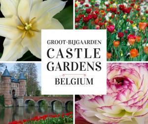 Groot-Bijgaarden Castle and Gardens in Belgium
