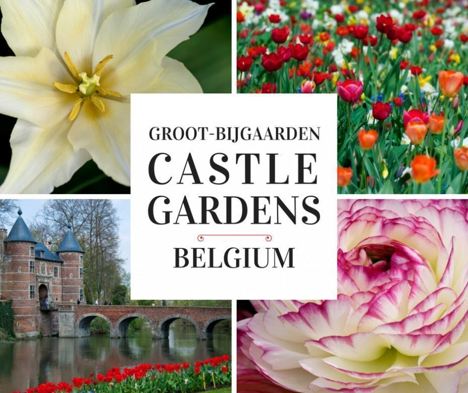 Groot-Bijgaarden Castle and Gardens in Belgium