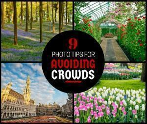 9 Photo Tips for avoiding crowds