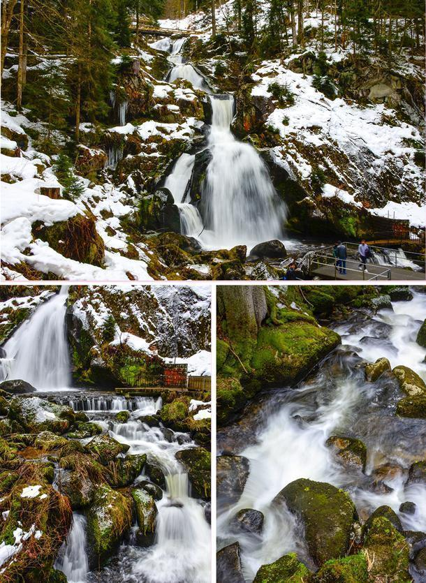 Triberg's waterfall, the Triberger Wasserfälle