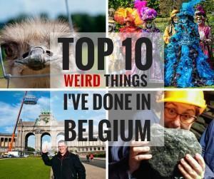 10 Weird Things in Belgium
