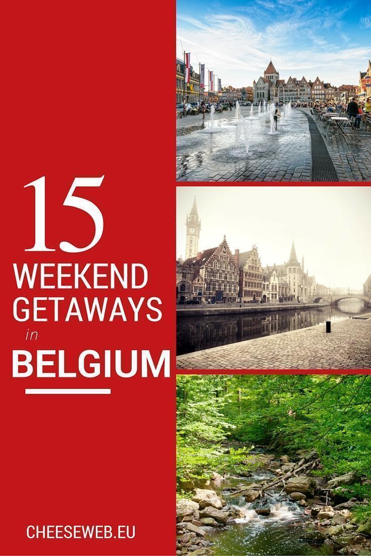 15 weekend getaways in Belgium