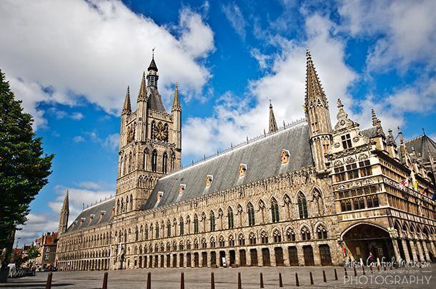 Ypres Cloth Hall is home to the In Flanders Fields Museum
