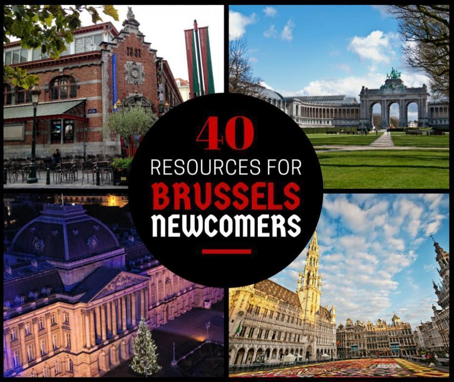 40 Resources for Newcomers in Brussels