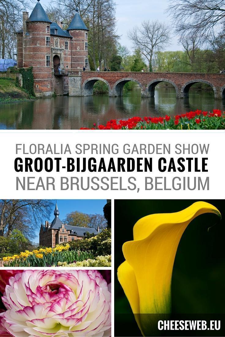 Floralia at Groot-Bijgaarden Castle and Gardens in Belgium