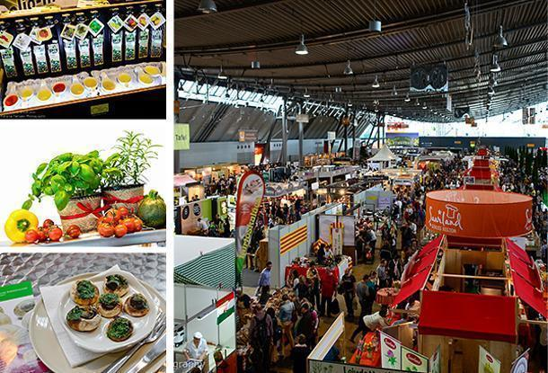 The Slow Food Fair fills two large hall in Stuttgart Messe