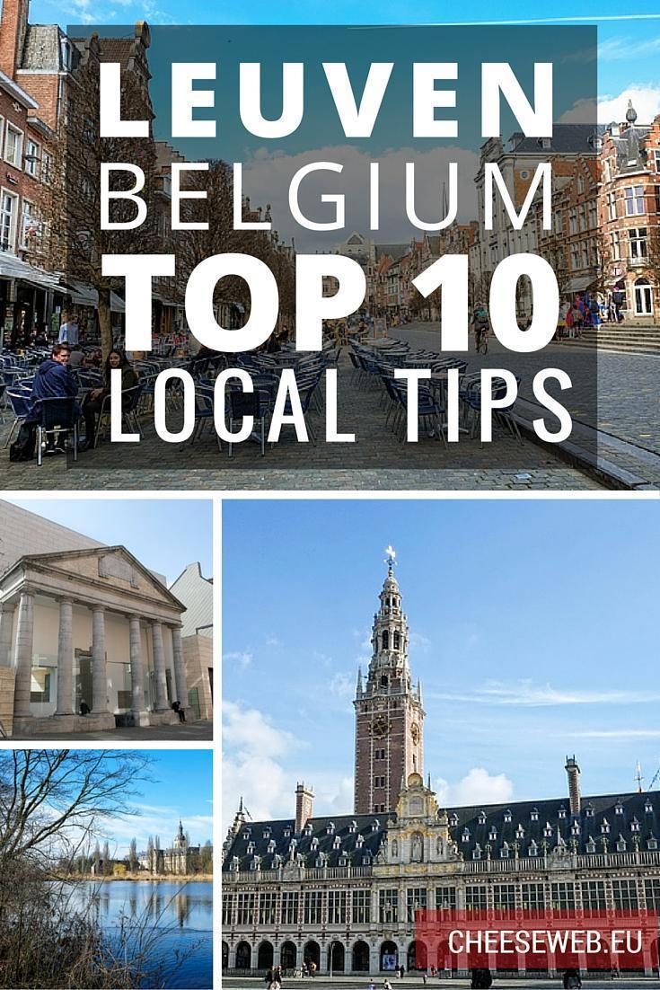 Top 10 Things to do in Leuven, Belgium