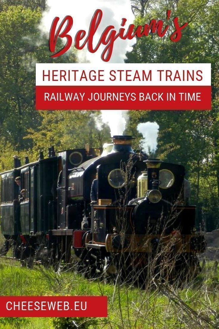 Adrianshares a look at Belgium's best heritage steam train journeys in Flanders and Wallonia. Take an exciting tourist train trip through Belgium on one of these antique trains.