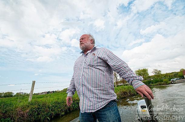 Herve Leleu leads us on a tour of the marshland