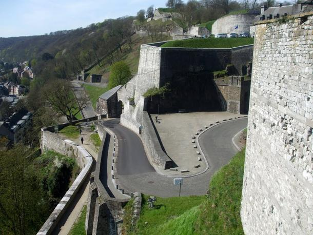 Namur's citadel makes a challenging start to your journey if you're up to the challenge