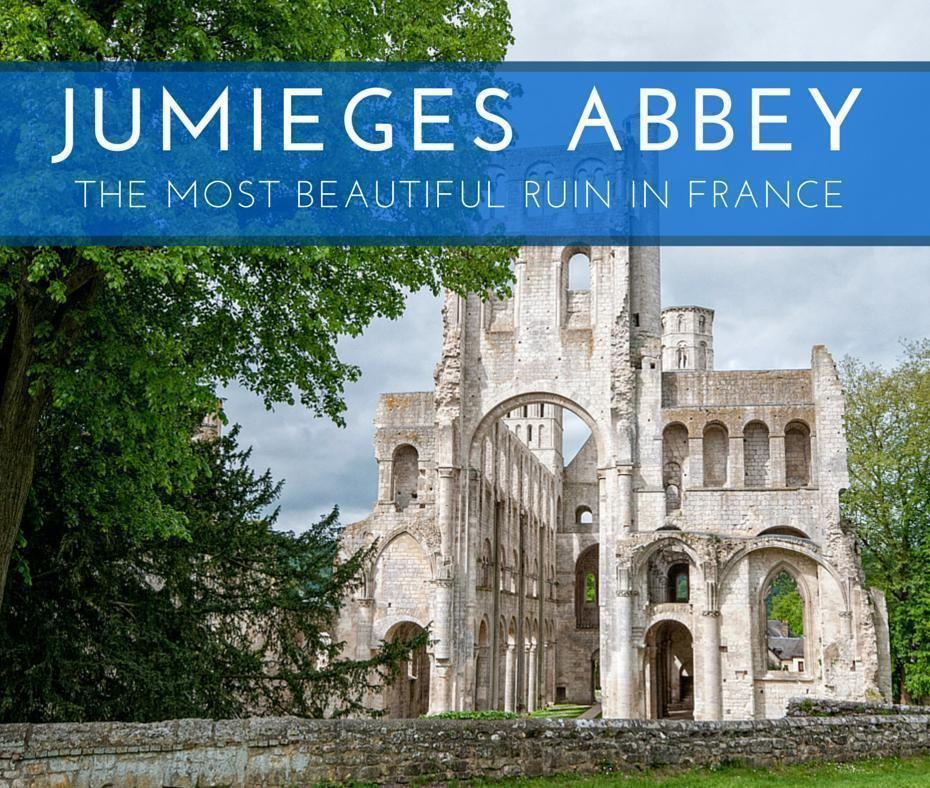 Jumieges Abbey ruin in Seine - Maritime, Normandy, France
