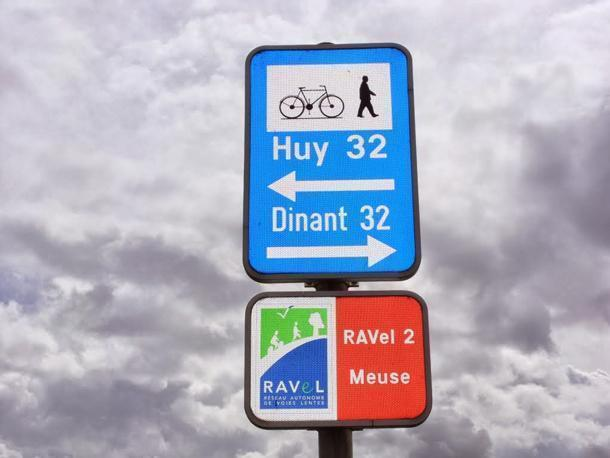 Stick to the RAVeL network to avoid traffic