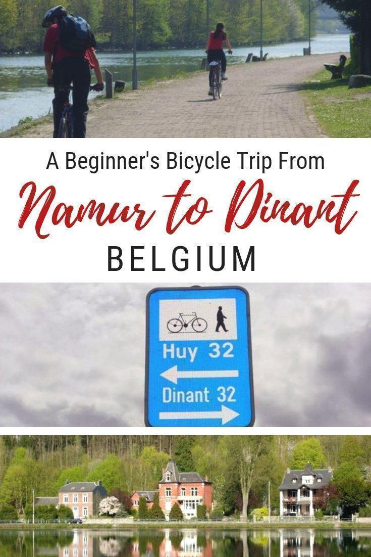 Adrian, shares a slow travel adventure in Wallonia, Belgium, on two wheels, with a scenic bicycle trip from Namur to Dinant, perfect even for beginners.