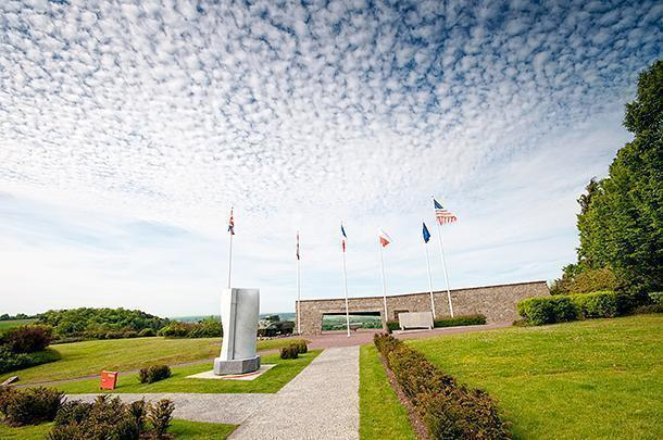 The Montormel Museum is a powerful memorial to Polish troops