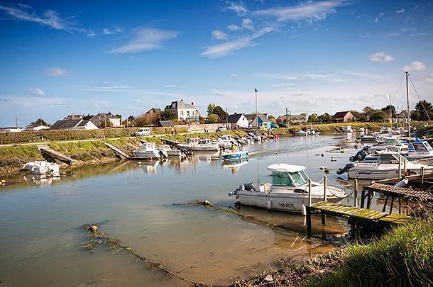 The pretty village port of Quineville