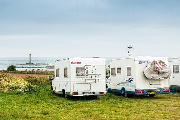 A free Aire with a magnificent view in Normandy