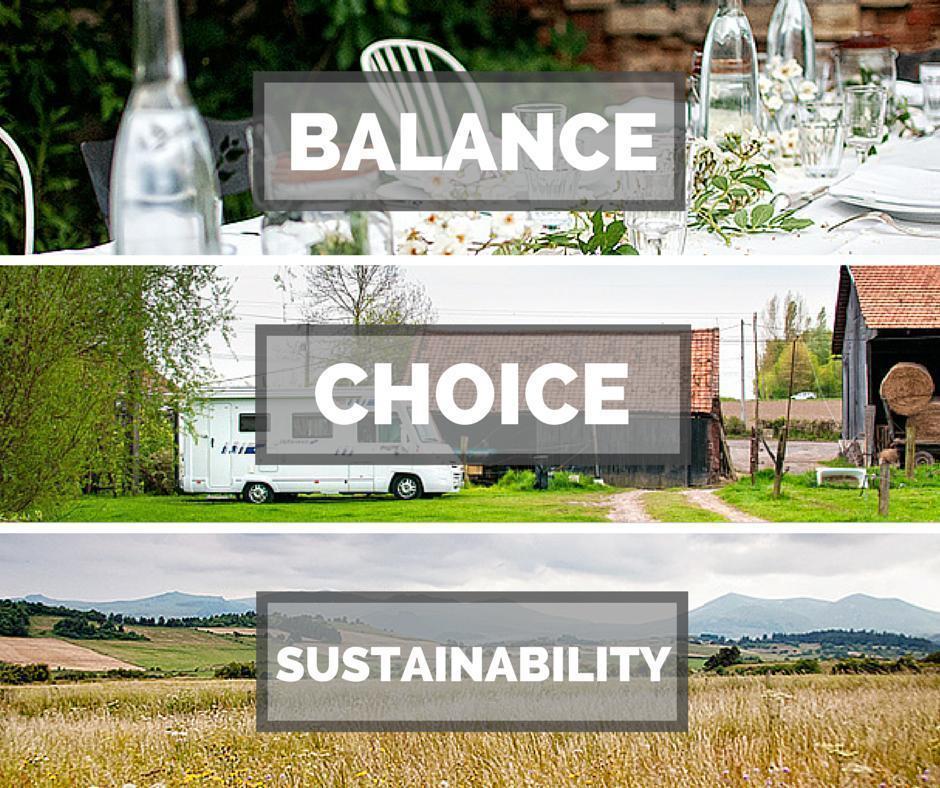 Balance Choice Sustainability