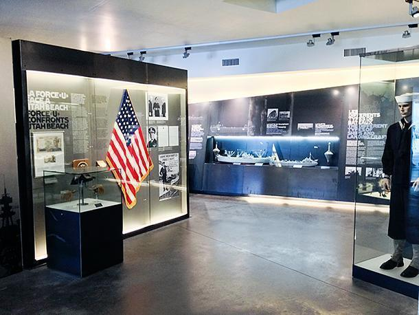 The museum is much larger than it looks and is filled with modern displays.